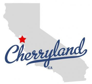 Map of service are for our Cherryland CA plumbers